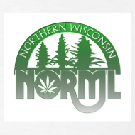 Design ~ Northern WI NORML Faded Green Logo Tshirt
