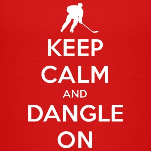 Keep Calm And Dangle On Baby & Toddler Shirts - Toddler Premium T-Shirt