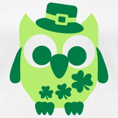 Owl Shamrock Women's T-Shirts