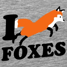 I Love Foxes T-Shirts