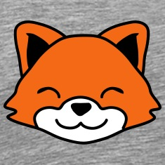 Cute Little Fox Child Face T-Shirts