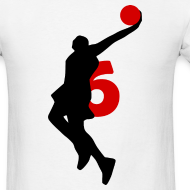 Design ~ James SUPERSTAR #6 Heat Shirt