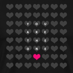 You are the one - love and romance T-Shirts