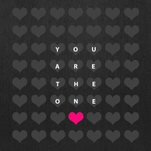 You are the one - love and romance Bags & backpacks - Tote Bag