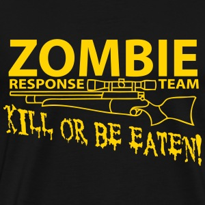 Zombie resonse Team T-Shirts - Men's Premium T-Shirt