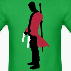 Dante with Guns Silhouette T-Shirts