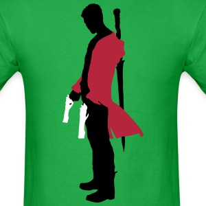 Dante with Guns Silhouette T-Shirts - Men's T-Shirt