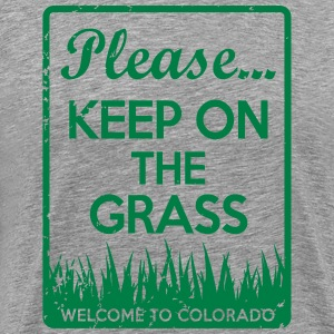 Keep On The Grass Colorado T-Shirts - Men's Premium T-Shirt