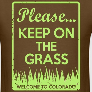 Keep On The Grass Colorado T-Shirts - Men's T-Shirt