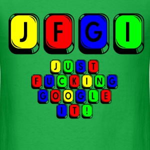 JFGI GOOGLE T-Shirts - Men's T-Shirt