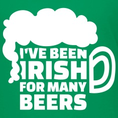 I've been Irish for many beers Kids' Shirts