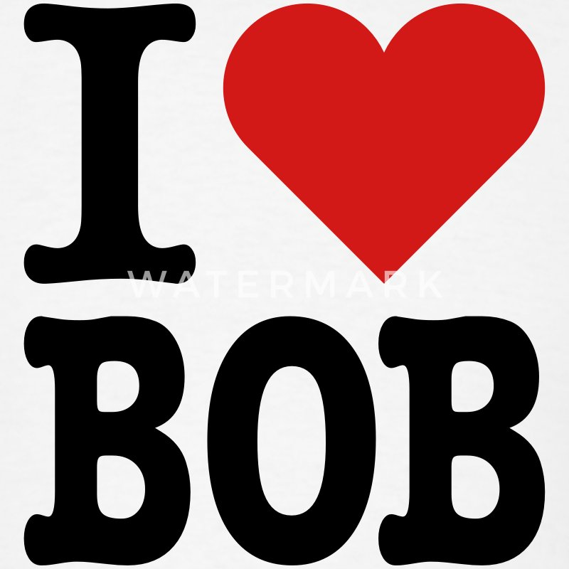 I Heart Bob T-Shirts - Men's T-Shirt