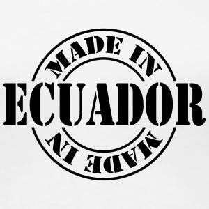 made_in_ecuador_m1 Women's T-Shirts - Women's Premium T-Shirt
