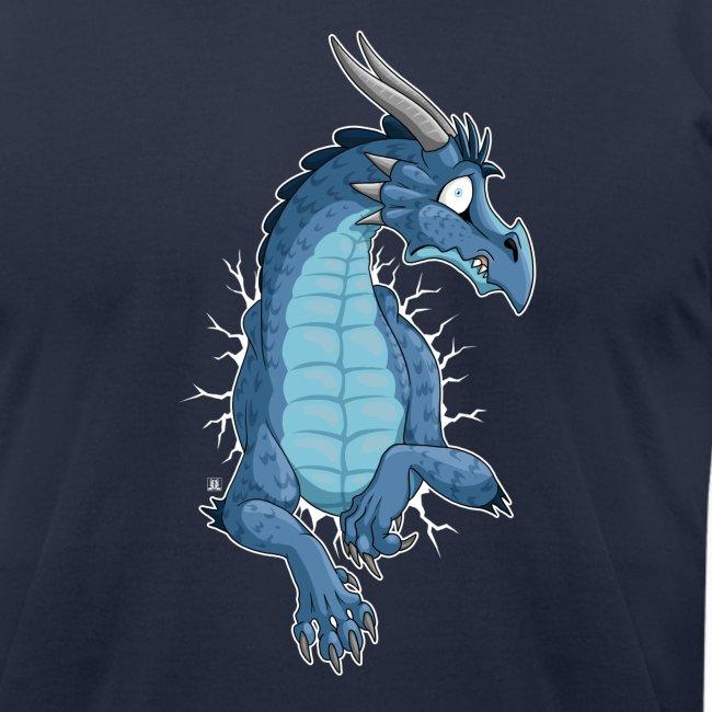 STUCK Blue Dragon (front)
