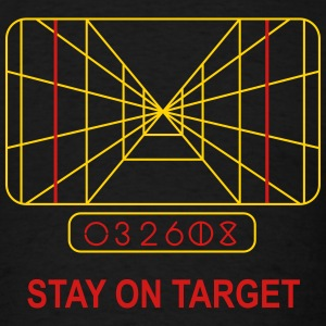 Stay on Target T-Shirts - Men's T-Shirt