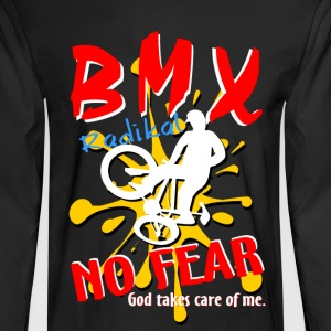 BMX NO Fear Black - Men's Long Sleeve T-Shirt