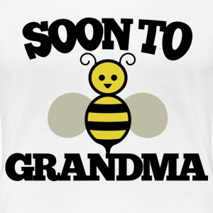 Soon to BEE Grandma - Women's Premium T-Shirt