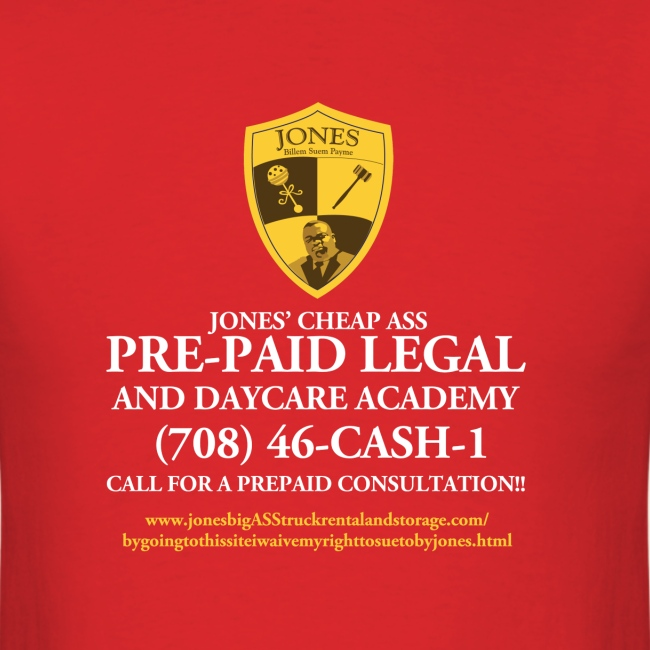 Jones Prepaid Legal Shirt