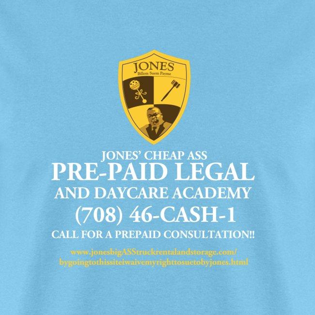 Jones Prepaid Legal Shirt