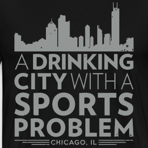 Welcome to Chicago T-Shirts - Men's Premium T-Shirt