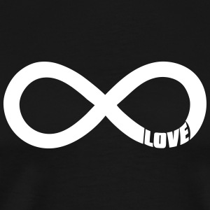 infinite love T-Shirts - Men's Premium T-Shirt