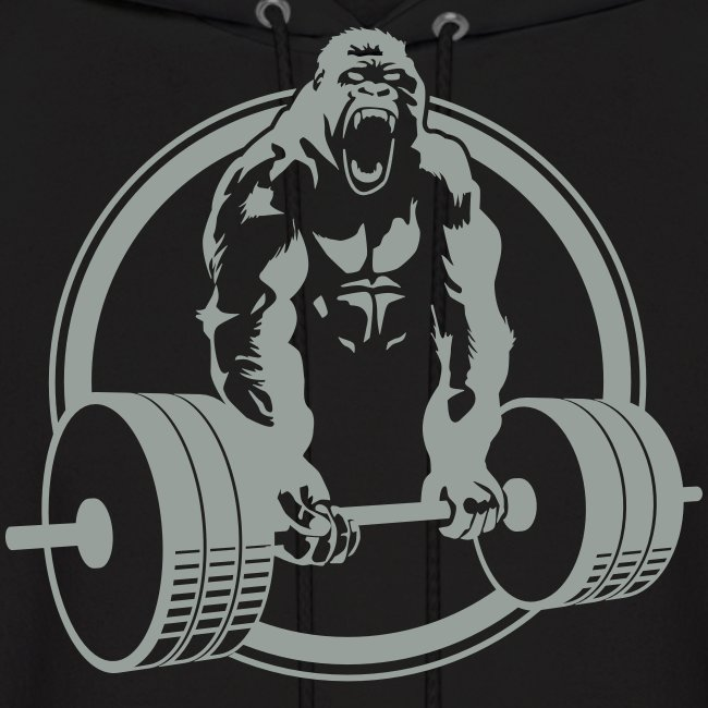 Gorilla Lifting Men's Hoodie