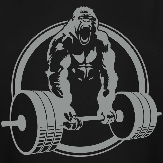 Gorilla Lifting Men's TALL Tee