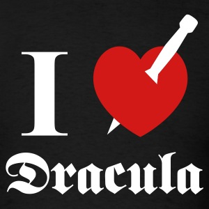 I love (to kill) Dracula T-Shirts - Men's T-Shirt