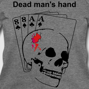 Dead man's hand Long Sleeve Shirts - Women's Wideneck Sweatshirt