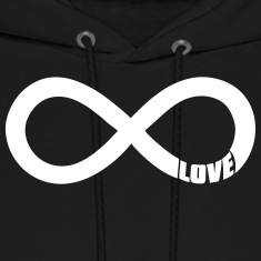 infinite love Hoodies