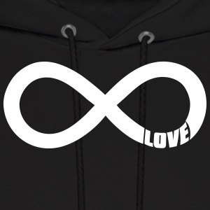 infinite love Hoodies - Men's Hoodie