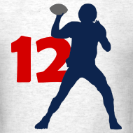 Design ~ Brady SUPERSTAR #12 Patriots Shirt