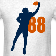Design ~ Thomas SUPERSTAR #88 Broncos Shirt