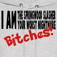 Design ~ i am the springwood slasher hoodie