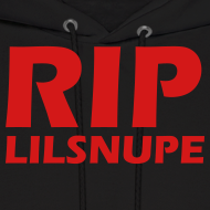 Design ~ rip lilsnupe hoodie