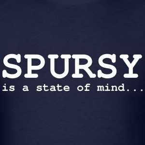 Spursy Navy - Men's T-Shirt