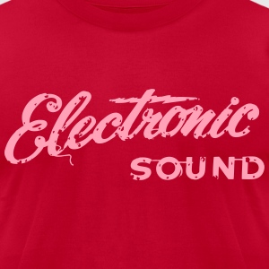 electronic sound - Men's T-Shirt by American Apparel
