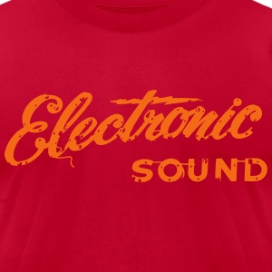 electronic vibe - Men's T-Shirt by American Apparel