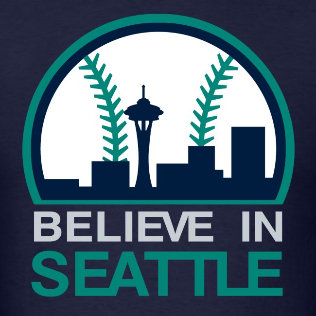 "VICTRS ""Believe In Seattle"" Baseball Shirt"