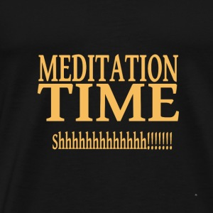 Meditation Time - Men's Premium T-Shirt