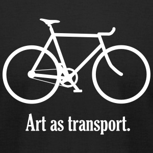 Art as Transport - Men's T-Shirt by American Apparel