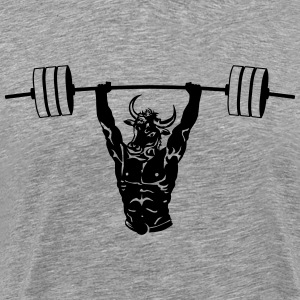 Mighty Minotaur Men's Performance Tee - Men's Premium T-Shirt