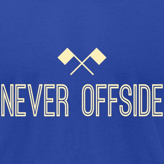 Never Offside Men's Tee