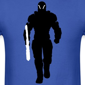 Human Soldier Silhouette2 T-Shirts - Men's T-Shirt