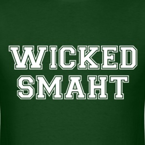 Wicked Smart (Smaht) College Boston T-Shirts - Men's T-Shirt