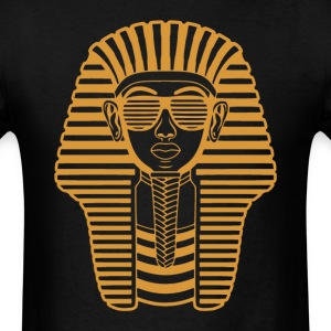 King Tut Egypt Pharaoh  Sunglasses T-Shirts - Men's T-Shirt