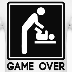 Game Over New Baby for Parent Dad
