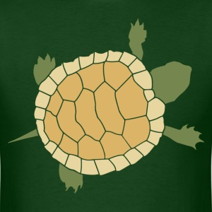 Cute Crawling Little Turtle Tortoise T-Shirts - Men's T-Shirt