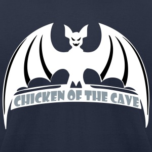 bat chicken - Men's T-Shirt by American Apparel