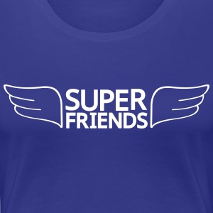 Super Friends Women's T-Shirts - Women's Premium T-Shirt